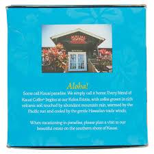 kauai coffee island sunrise mild roast single serve coffee pods