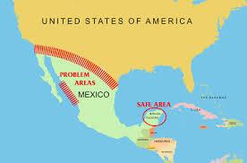 map of mexico yucatan region yucatan peninsula safest region in mexico tulum real estate