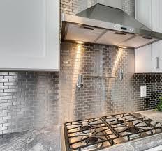 kitchen backsplash stainless steel tiles bridge pattern stainless steel mosaic tiles sheet tile for design 2