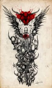 And Demons Sleeve Tattoos Sleeve By Shawncoss On Deviantart