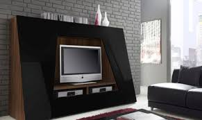 Led Tv Stands And Furniture Shiny Black Cabinet For Led Tv Stand Match Beautiful Living Latest