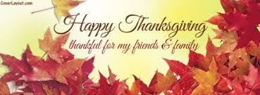 thankful for my friends family happy thanksgiving cover