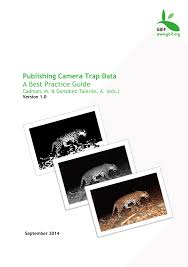 lucy lume url pics publishing camera trap data a best practice guide pdf download