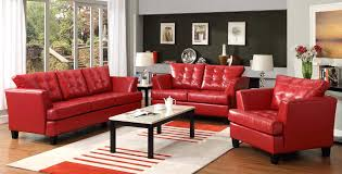 charming red leather sofa set ideas u2013 gradfly co