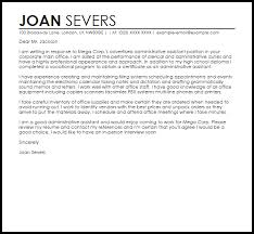 sample cover letter for administrative assistant livecareer