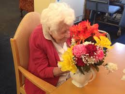 arranging flower arranging broadlands park residential care home for the
