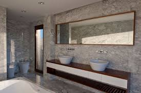 bathroom marble tile design ideas black color stone wash basins