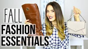 fall fashion essentials 2016 tory burch kate spade u0026 more