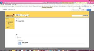 Resume Upload Sites by Adding A Resume To Your Eportfolio Youtube