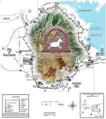 Map Of Vegas Trailheads And Maps River Mountains Loop Trail