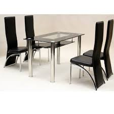 Metal Leg Dining Chairs Cheap Dining Table And Chairs Wooden Bench Frame Chrome Polished