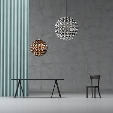 elaine u2013 an eye catching ball shaped pendant lamp by daniel becker
