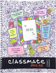 classmate products classmate bound notebook 190 x 155 square 1 cm 180 pages 1 pc
