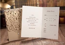 tri fold invitations new 2018 wedding invitation cards exquisite personalized printable