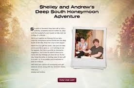 wedding trip registry buy our honeymoon personalised travel inspired gift registry