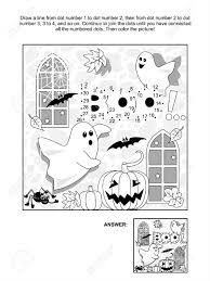 halloween coloring pages by number halloween coloring pages connect dots coloring page