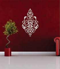 25 damask wall decals damask pattern vinyl wall decal large from damask wall decals