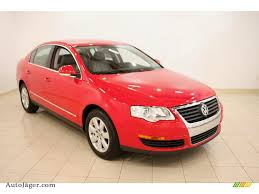 red volkswagen passat 2008 volkswagen passat turbo sedan in tornado red 005807 auto