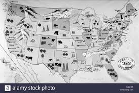 Maps Of United States by 1930s 1940s Map Of United States Showing Agricultural And