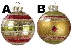 And Gold Glass Ornaments Sullivans Glittered Green And Gold Glass Ornaments
