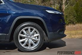 jeep cherokee power wheels 2014 jeep cherokee limited review video performancedrive