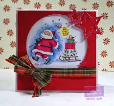 really reasonable ribbon blog special delivery christmas card by
