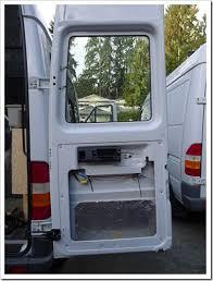 Van Rear Door Awning 2006 Short Wheelbase Sprinter Van Conversion