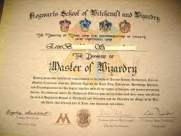 make your own harry potter hogwarts diploma acceptance letter