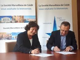 soci t marseillaise de cr dit si ge social finance société marseillaise de crédit signe un partenariat avec