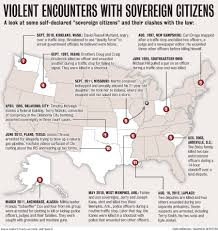 Oklahoma City Zip Code Map by Violent Clashes With Sovereign Citizens Across The U S