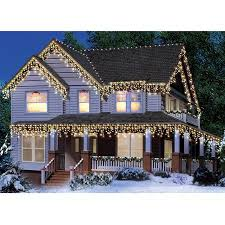 Decorate Christmas Tree With Icicle Lights by Holiday Time 300 Count Icicle Christmas Lights Clear Green Wire