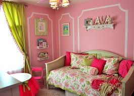 Curtain Colour Ideas Bedroom Comely Fun Pink And Green Bedroom Designs Girls Ideas