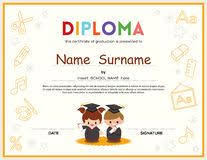 35 best kid diploma certificate template images on pinterest