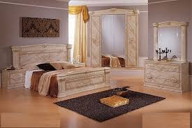 Italian High Gloss Marble Bedroom Furniture Set Homegenies - Bedroom furniture sets uk