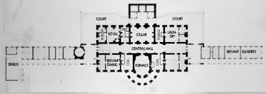 The Red Cottage Floor Plans by Ground Floor White House Museum