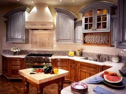 are painted or stained kitchen cabinets in style trend alert mixed cabinet finishes in the kitchen