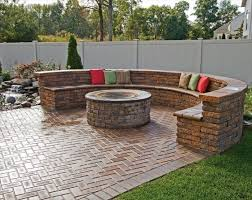 Firepit Bricks Patio Design Ideas With Pits Internetunblock Us