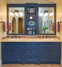 malaga cove tile bathroom contemporary with floating vanity
