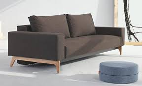 canapé lit 140 innovation living idun canape design marron convertible lit 200 140 cm