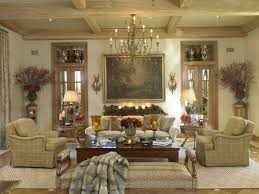 bring old italian feel through the extravagant tuscan living room