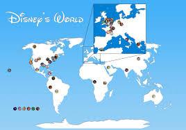 disney movies map reddit user curates films u0027 geography huffpost