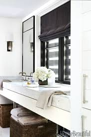 bathroom contemporary large manor half window curtain bathroom