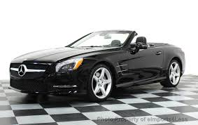 white mercedes convertible 2014 used mercedes certified sl550 amg sport convertible at
