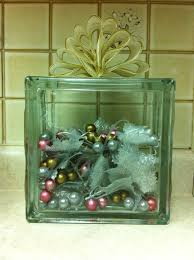 etched glass ornaments personalized personalized glass etched glass block decorated for christmas