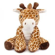 comfies large giraffe stuffed animal by fiesta at stuffed safari