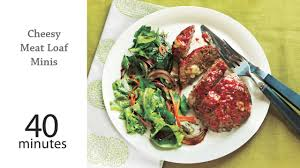 mini meatloaf cooking light cheesy meat loaf minis recipe myrecipes