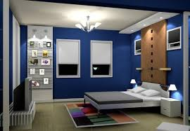 bedroom pop blue bedroom interior design image modern new 2017