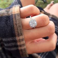 gorgeous engagement rings big engagement ring inspiration popsugar