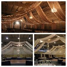 draped ceiling ceiling draping for wedding 9 25 15