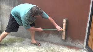 Parge Basement Walls by Painting Cement Walls With Clay Slip Part 1 Of 2 Youtube